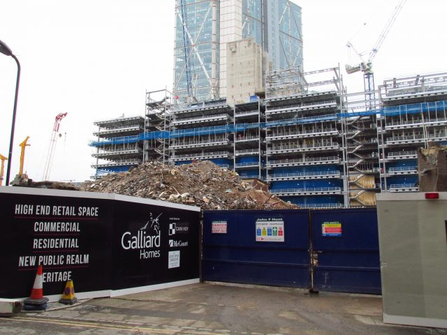 ISG and Galliard Homes to shut sites ahead of government advice