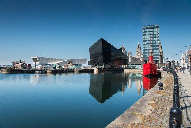 Plans in for 31-floor residential block at Liverpool Waters