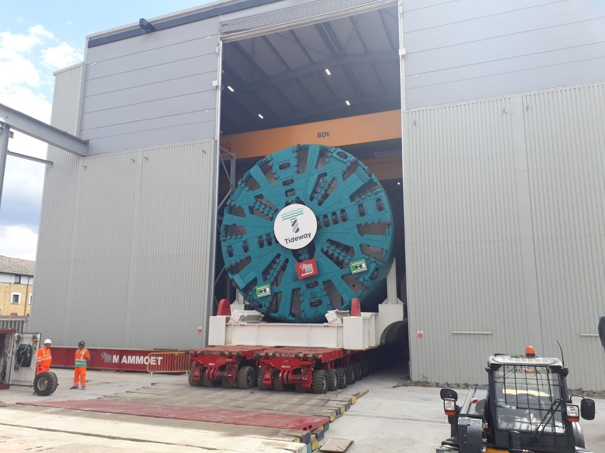giant Tunnel Boring Machine Selina