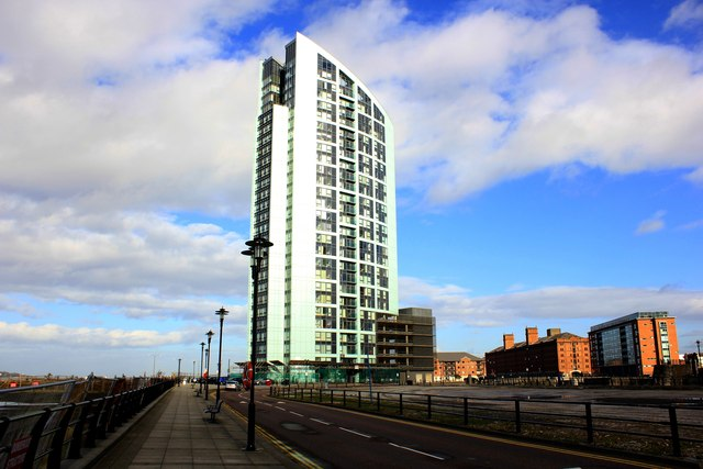 Planning approved for 31-storey residential tower in Liverpool