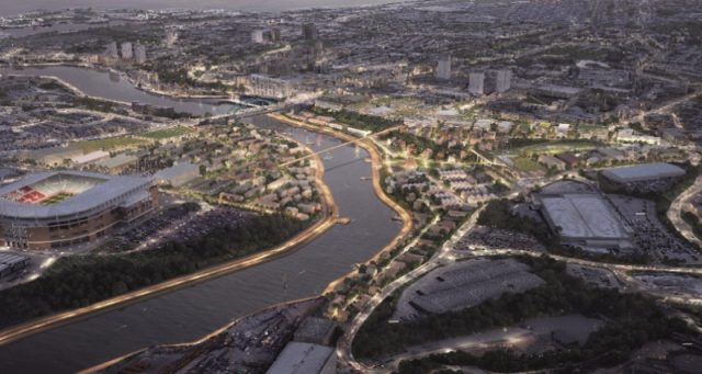 Plan for offices construction with £100m at Riverside Sunderland