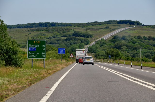 North Devon Link Road construction costing £60m to start