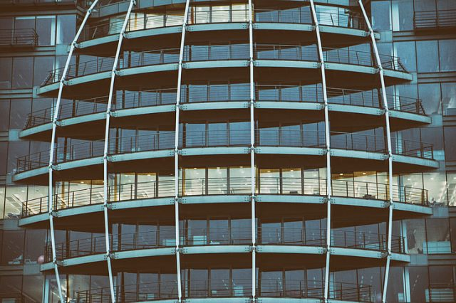 Construction of major London office plan on stilts and above trees is under review