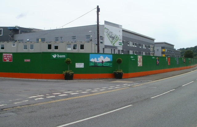 BAM Construction was appointed to build a new leisure centre