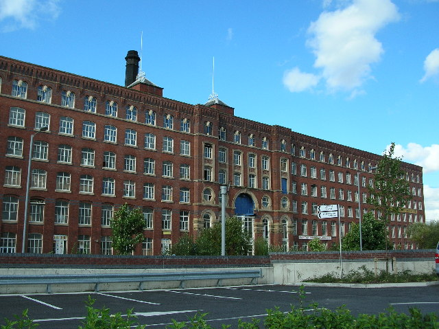 Plans submitted for £60m Stockport's Weir Mill flats